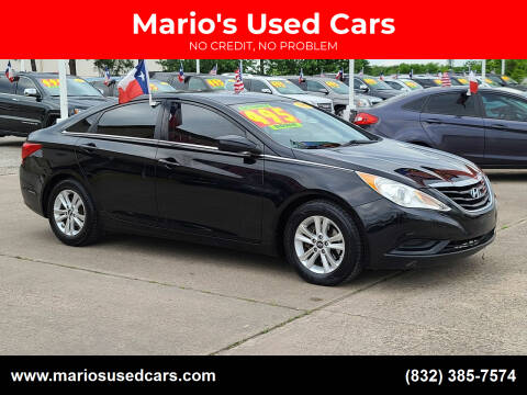 2012 Hyundai Sonata for sale at Mario's Used Cars in Houston TX