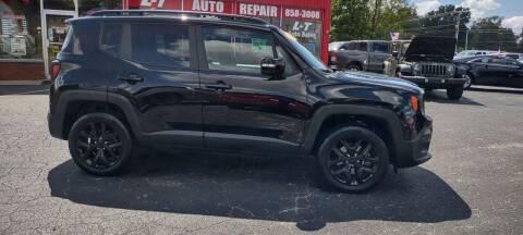 2018 Jeep Renegade for sale at L&T Auto Sales in Three Rivers MI