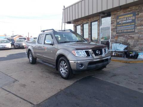 2009 Nissan Frontier for sale at Preferred Motor Cars of New Jersey in Keyport NJ