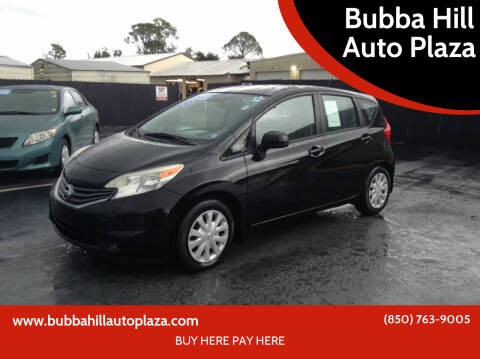 2014 Nissan Versa Note for sale at Bubba Hill Auto Plaza in Panama City FL
