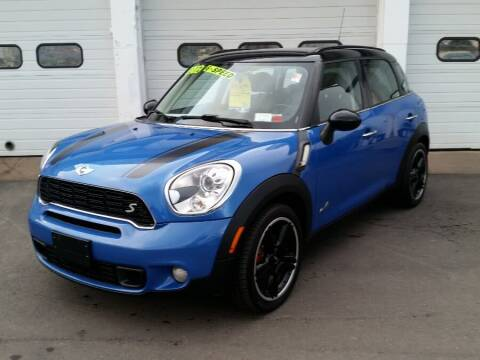 2012 MINI Cooper Countryman for sale at Action Automotive Inc in Berlin CT