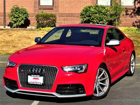 2013 Audi RS 5 for sale at SEATTLE FINEST MOTORS in Lynnwood WA