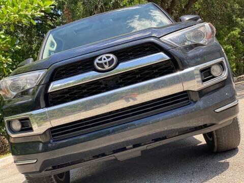 2014 Toyota 4Runner for sale at HIGH PERFORMANCE MOTORS in Hollywood FL