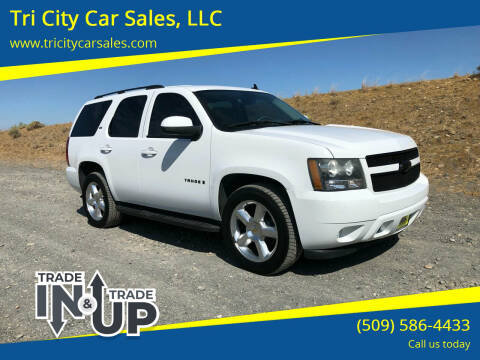 2007 Chevrolet Tahoe for sale at Tri City Car Sales, LLC in Kennewick WA