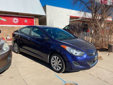 2012 Hyundai Elantra for sale at PYRAMID MOTORS AUTO SALES in Florence CO