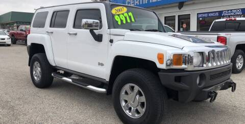 2007 HUMMER H3 for sale at Perrys Certified Auto Exchange in Washington IN