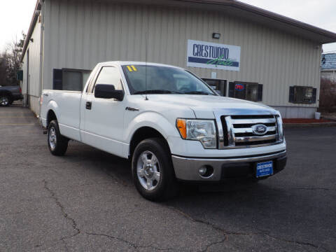 2011 Ford F-150 for sale at Crestwood Auto Sales in Swansea MA
