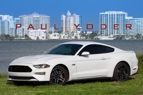 2018 Ford Mustang for sale at PAUL YODER AUTO SALES INC in Sarasota FL