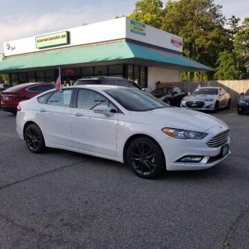 2018 Ford Fusion for sale at Action Auto Specialist in Norfolk VA
