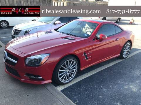 2013 Mercedes-Benz SL-Class for sale at RLB Sales and Leasing in Fort Worth TX