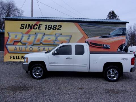 2013 Chevrolet Silverado 1500 for sale at Pyles Auto Sales in Kittanning PA