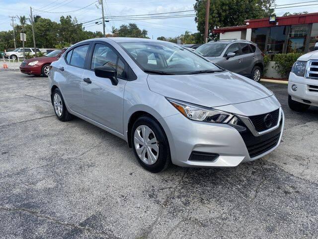 2020 Nissan Versa for sale at Prado Auto Sales in Miami FL