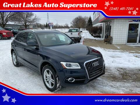 2014 Audi Q5 for sale at Great Lakes Auto Superstore in Waterford Township MI