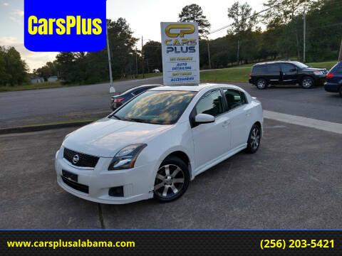 2012 Nissan Sentra for sale at CarsPlus in Scottsboro AL
