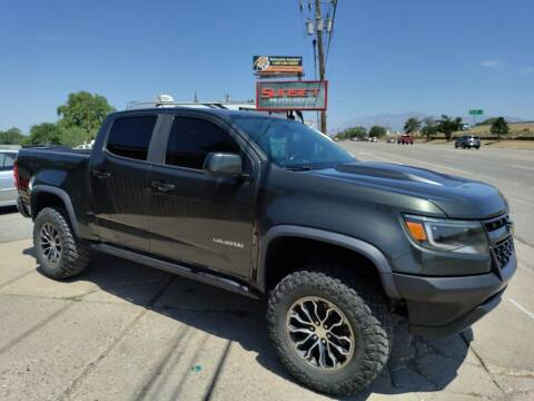2017 Chevrolet Colorado for sale at Sunset Auto Body in Sunset UT