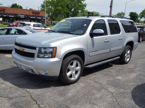 2012 Chevrolet Suburban for sale at AUTOSAVIN in Elmhurst IL