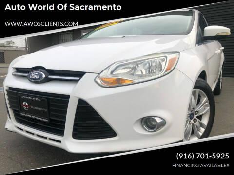 2012 Ford Focus for sale at Auto World of Sacramento Stockton Blvd in Sacramento CA