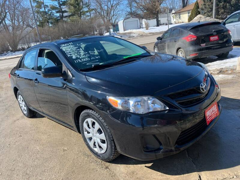 2011 Toyota Corolla for sale at GREENFIELD AUTO SALES in Greenfield IA