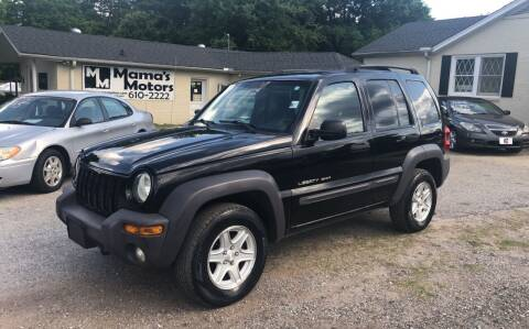 2003 Jeep Liberty for sale at Mama's Motors in Greer SC