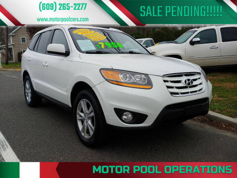 2010 Hyundai Santa Fe for sale at Motor Pool Operations in Hainesport NJ