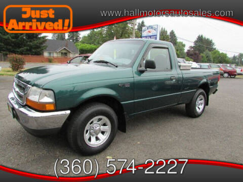 2000 Ford Ranger for sale at Hall Motors LLC in Vancouver WA