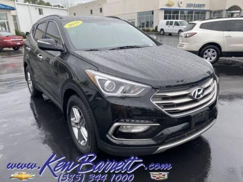 2018 Hyundai Santa Fe Sport for sale at KEN BARRETT CHEVROLET CADILLAC in Batavia NY