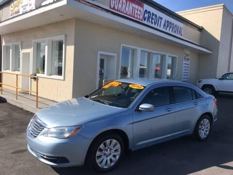 2012 Chrysler 200 for sale at Suarez Auto Sales in Port Huron MI