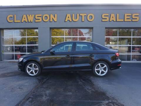 2015 Audi A3 for sale at Clawson Auto Sales in Clawson MI