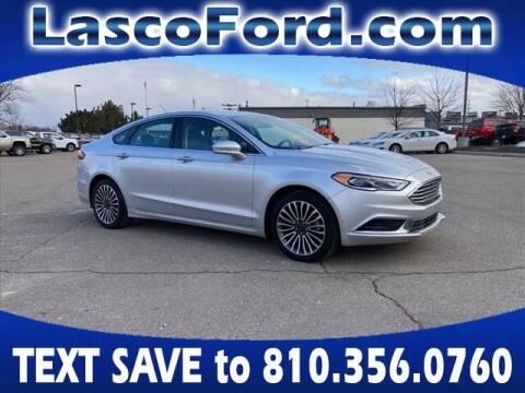 2018 Ford Fusion for sale at LASCO FORD in Fenton MI