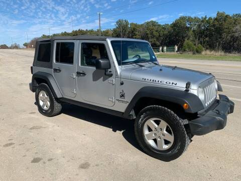 2009 Jeep Wrangler Unlimited for sale at TROPHY MOTORS in New Braunfels TX