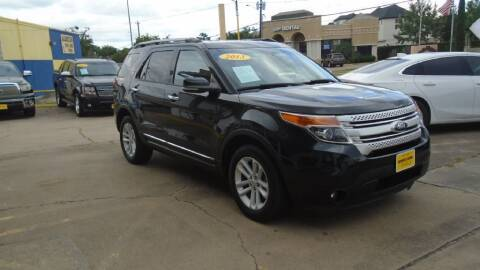 2013 Ford Explorer for sale at Metroplex Motors Inc. in Houston TX