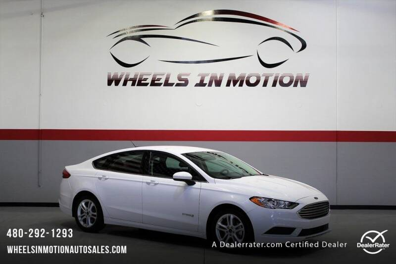 2018 Ford Fusion Hybrid for sale in Tempe, AZ