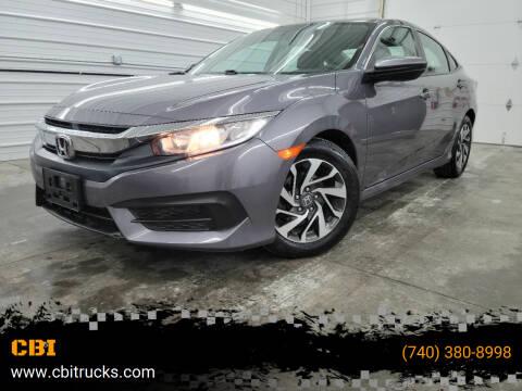 2017 Honda Civic for sale at CBI in Logan OH