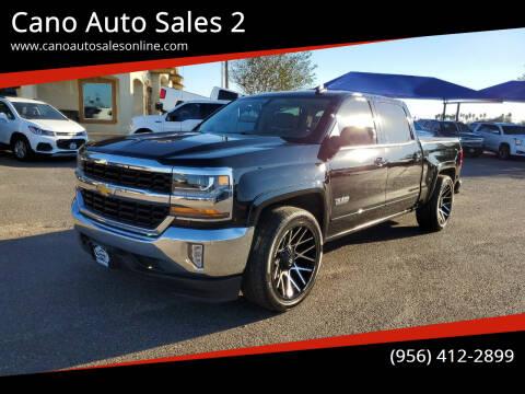 2018 Chevrolet Silverado 1500 for sale at Cano Auto Sales 2 in Harlingen TX
