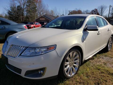 2012 Lincoln MKS for sale at Scarletts Cars in Camden TN