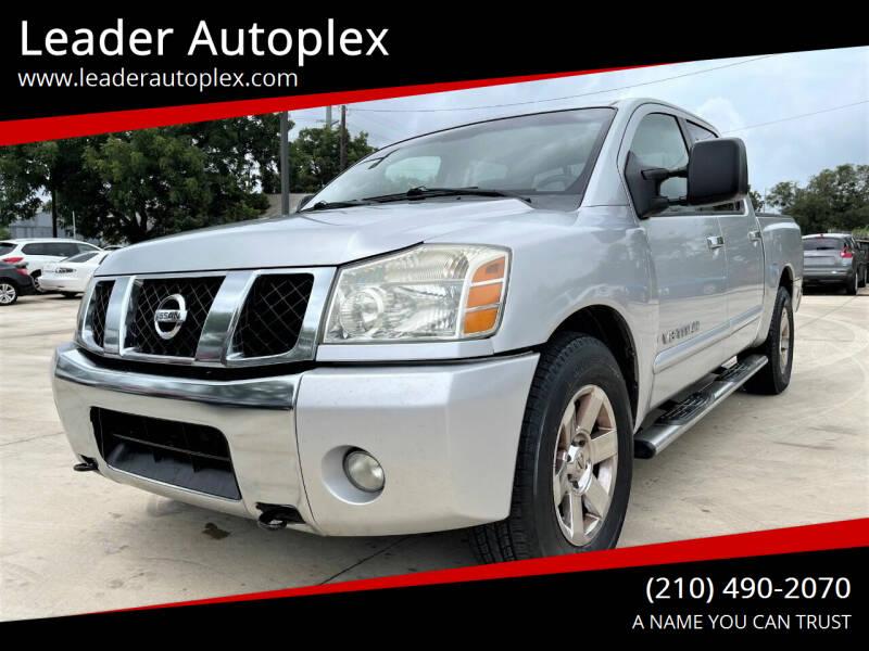 2007 Nissan Titan for sale at Leader Autoplex in San Antonio TX