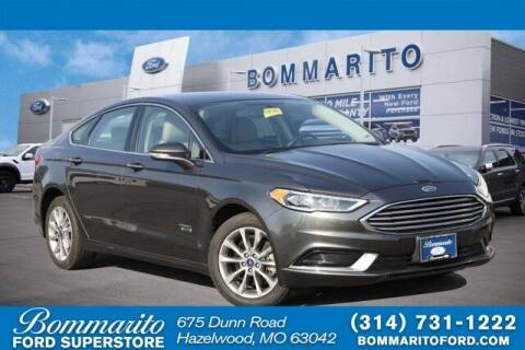 2018 Ford Fusion Energi for sale at NICK FARACE AT BOMMARITO FORD in Hazelwood MO