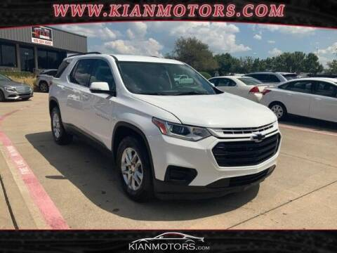 2019 Chevrolet Traverse for sale at KIAN MOTORS INC in Denton TX