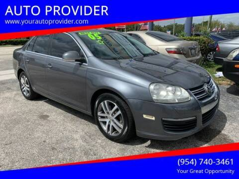 2005 Volkswagen Jetta for sale at AUTO PROVIDER in Fort Lauderdale FL