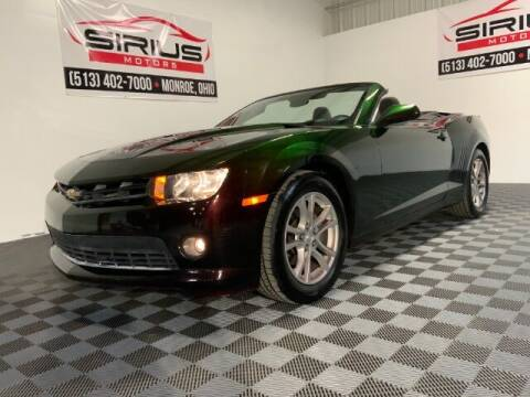 2015 Chevrolet Camaro for sale at SIRIUS MOTORS INC in Monroe OH