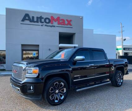 2015 GMC Sierra 1500 for sale at AutoMax of Memphis in Memphis TN