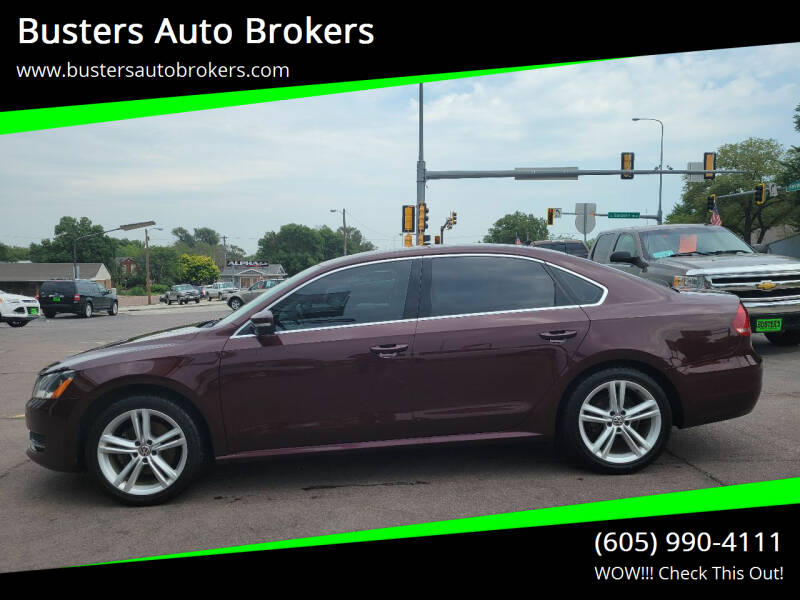 2014 Volkswagen Passat for sale at Busters Auto Brokers in Mitchell SD