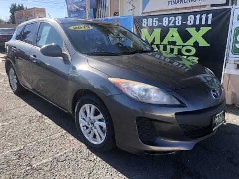 2013 Mazda MAZDA3 for sale at Max Auto Sales in Santa Maria CA