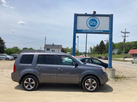 2015 Honda Pilot for sale at Corry Pre Owned Auto Sales in Corry PA