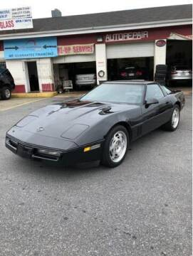1990 Chevrolet Corvette for sale at JTR Automotive Group in Cottage City MD