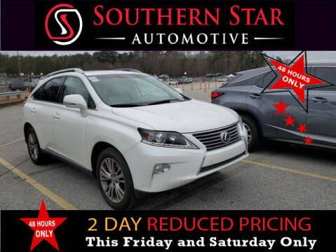 2014 Lexus RX 350 for sale at Southern Star Automotive, Inc. in Duluth GA