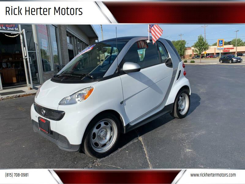 2014 Smart fortwo for sale at Rick Herter Motors in Loves Park IL