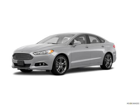 2015 Ford Fusion for sale at Griffin Mitsubishi in Monroe NC