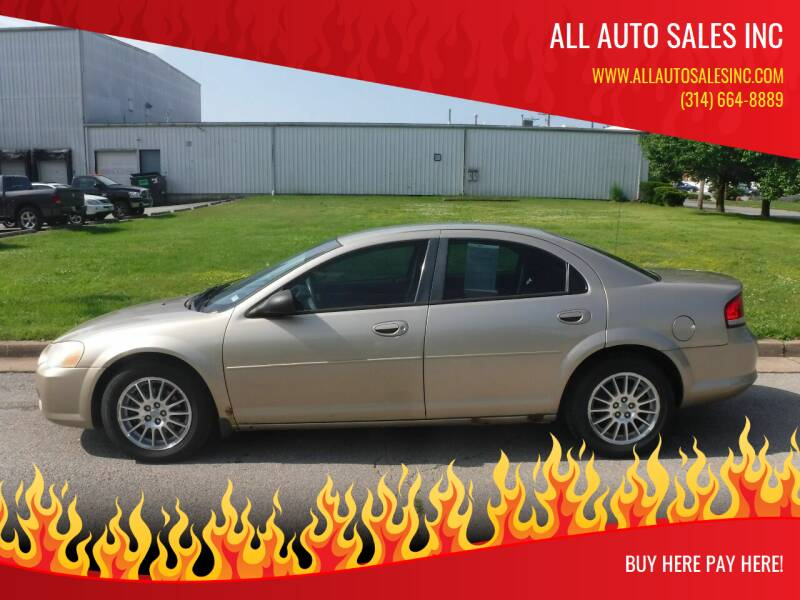 2004 Chrysler Sebring for sale at ALL Auto Sales Inc in Saint Louis MO