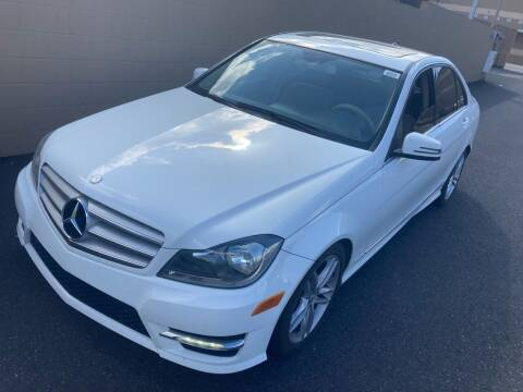 2013 Mercedes-Benz C-Class for sale at Blue Line Auto Group in Portland OR
